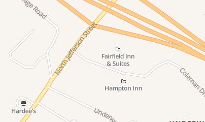 Directions for Quality Inn in Lewisburg, WV 540 N Jefferson St