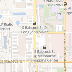 Directions for Eyebrow Threading & Dollar Five Haircut in Melbourne, FL 1325 S Babcock St