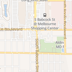 Directions for Acquafreddas Salon Inc in Melbourne, FL 1518 S Babcock St