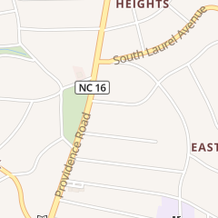 Directions for Pilates 4 U in Charlotte, NC 517 Fenton Pl