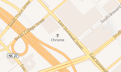 Directions for Chrome Night Club in Charlotte, NC 300 e Stonewall St