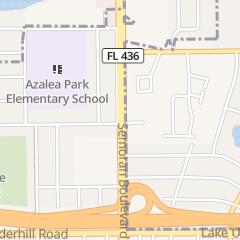 Directions for Frances Hair & Nail Salon in Orlando, FL 152 S Semoran Blvd