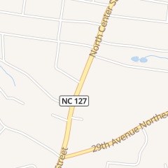 Directions for Advanced Copier Services - Hickory in Hickory, NC 3020 N Center St
