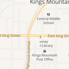 Directions for Cleveland Physical Therapy in Kings Mountain, NC 110 W King St Ste 9