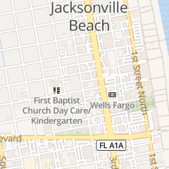 Directions for A1a Lock & Key Inc in Jacksonville Beach, FL 333 2nd Ave N