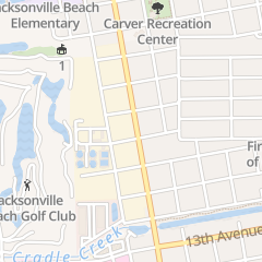 Directions for J Randolph Brown Jr Real Estate in Jacksonville Beach, FL 830 9th St S