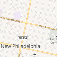 Directions for Dairy Queen in New Philadelphia, OH 235 N Broadway St