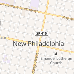 Directions for THE BACK ALLEY in New Philadelphia, OH 110 Ashwood Ln NW
