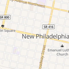 Directions for Daily Grind Cafe in New Philadelphia, OH 153 W High Ave