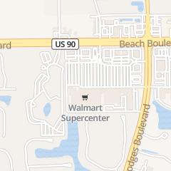 Directions for Brown Diane Od in Jacksonville, FL 13490 Beach Blvd