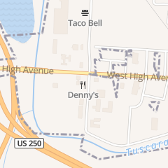 Directions for Denny's Restaurant in New Philadelphia, OH 1256 W High Ave