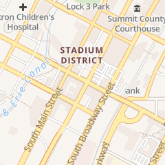 Directions for W Ews tv Abc Newschannel 5 in Akron, OH 44 E Exchange St