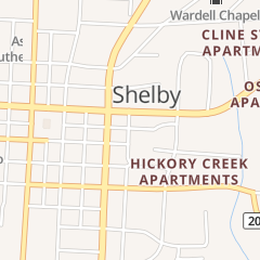 Directions for Zumba Alley Fitness of Shelby LLC in Shelby, NC 104 S Dale St