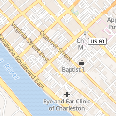 Directions for WELL SERVICE CO in CHARLESTON, wv 112 BROOKS ST