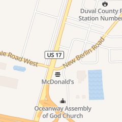 Directions for Oceanway Crab House in Jacksonville, FL 12405 N Main St