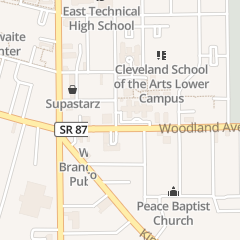 Directions for The Salvation Army in Cleveland, OH 6001 Woodland Ave