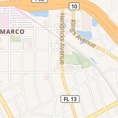 Directions for Jack Rabbits in Jacksonville, FL 1528 Hendricks Ave