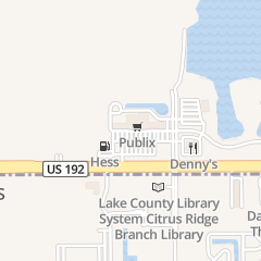 Directions for PUBLISHING SOTTO in Clermont, FL 17445 Us Highway 192