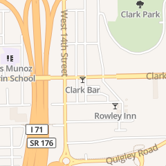 Directions for Clark Bar in Cleveland, OH 1201 Clark Ave