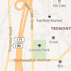 Directions for S P Tremont llc in Cleveland, OH 2363 W 14th St