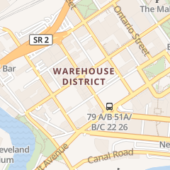Directions for Lobster Shack in Cleveland, OH 1378 W 6th St
