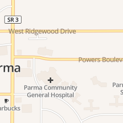 Directions for Parma Community General Hospital in Cleveland, OH 7007 Powers Blvd