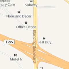 Directions for Office Depot Fax Line in Jacksonville, FL 8102 Blanding Blvd