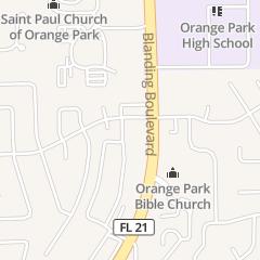 Directions for Kids World Academy in Orange Park, FL 2121 Constitution Dr