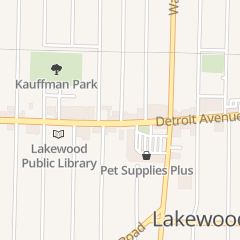 Directions for Lion & Blue in Lakewood, OH 15106 Detroit Ave