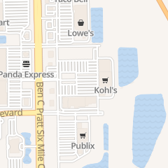 Directions for Kohl's Fort Myers in Fort Myers, FL 9357 Ben C Pratt/6 Mile Cypress Pkwy