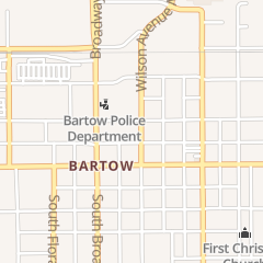 Directions for County of Polk in Bartow, FL 255 n Wilson Ave