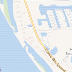Directions for Bermuda Dunes Condominium in Fort Myers Beach, FL 7390 Estero Blvd