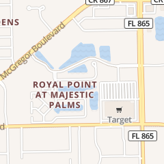 Directions for Majestic Palms Home Owners Assoc in Fort Myers, FL 11641 Marino CT