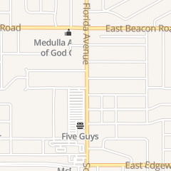 Directions for Friendly Nails in Lakeland, FL 107 W Oak Dr