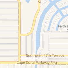 Directions for HIDEAWAY WATERFRONT RESORTS in Cape Coral, fl 4601 SE 5Th Ave