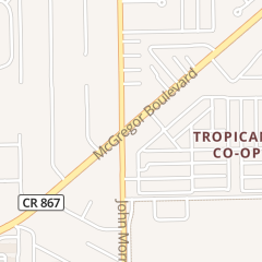 Directions for Tropicana Mobile Manor in Fort Myers, FL 16731 Mcgregor Blvd