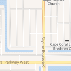 Directions for Cabana Club South Apartments in Cape Coral, FL 4616 SW 8th Pl