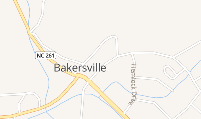 Directions for Parker Firearms in Bakersville, NC 59 N Mitchell Ave
