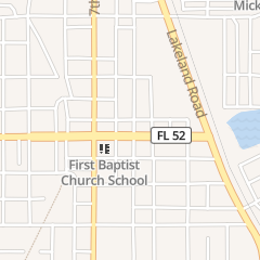 Directions for Locked Up Hair Studio in Dade City, FL 37951 Meridian Ave