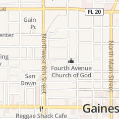 Directions for Finishing Touch in Gainesville, FL 430 NW 5th Ave