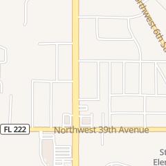 Directions for REGINALD NATTIEL'S BARBER in Gainesville, fl 4131 NW 13Th St