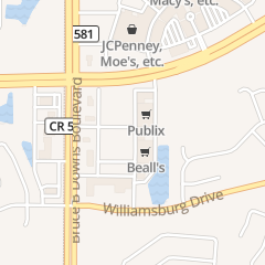 Directions for Dental Health Group in Wesley Chapel, FL 1746 Bruce B Downs Blvd