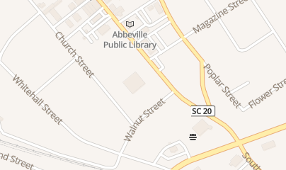 Directions for Redbox in Abbeville, SC 300 S Main St