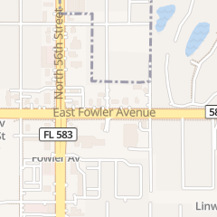 Directions for Hair's the Way Salon in Temple Terrace, FL 5802 E Fowler Ave Ste F