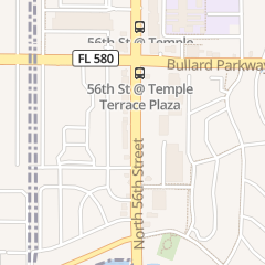 Directions for Cindy's Nails in Temple Terrace, FL 8898 N 56th St