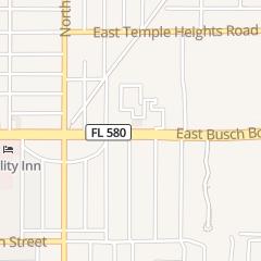 Directions for Petra Restaurant in Tampa, FL 4812 E Busch Blvd Ste C