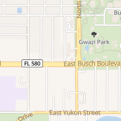 Directions for Arby's Restaurant in Tampa, FL 2810 E Busch Blvd
