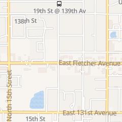Directions for Precious Nails in Tampa, FL 1908 E Fletcher Ave Ste F