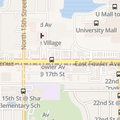 Directions for Denny's Restaurant in Tampa, FL 1700 E Fowler Ave