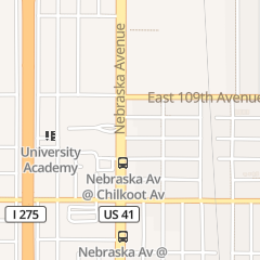 Directions for Northside Air Conditioning & Electrical Service in Tampa, FL 10701 N Nebraska Ave